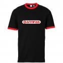 Antifas - Contrast-Shirt schwarz/rot