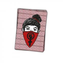 Feministas* mit Logo - Aufkleber - 30 Stück