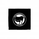 Antifaschistische Aktion schwarz/schwarz - Aufnäher