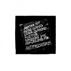 Antifa ist keine Gang - Aufnäher