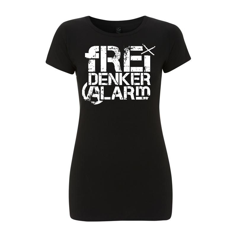 Freidenkeralarm Logo - tailliertes Shirt