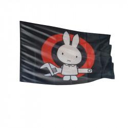 Sabotagehase - Fahne