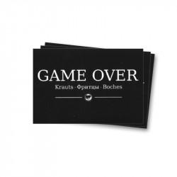 Game Over - Aufkleber - 30 Stück