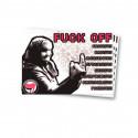 Fuck Off - Aufkleber - 30 Stück