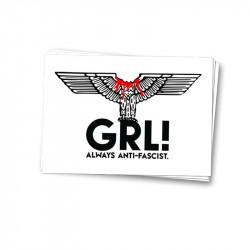 GRL - Aufkleber - 30 Stück