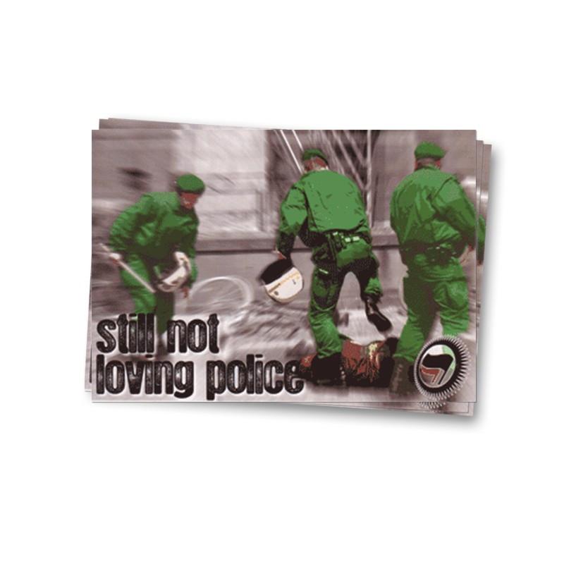 Polizeigewalt, Still not loving Police - Aufkleber - 30 Stück
