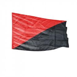 Scharz/Rot - Fahne-