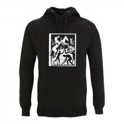 Drooker-Riot Horse – Kapuzenpullover N50P