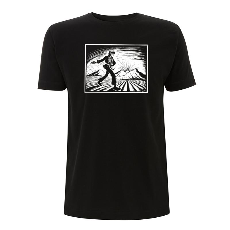 Drooker-The Grim Sower – T-Shirt N03