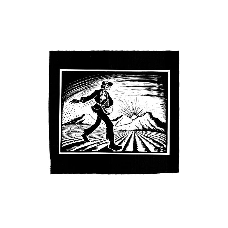 Drooker-The Grim Sower – Aufnäher