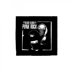 Black Block Punk Rock – Aufnäher