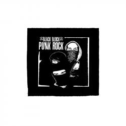 Black Block Punk Rock – Aufnäher