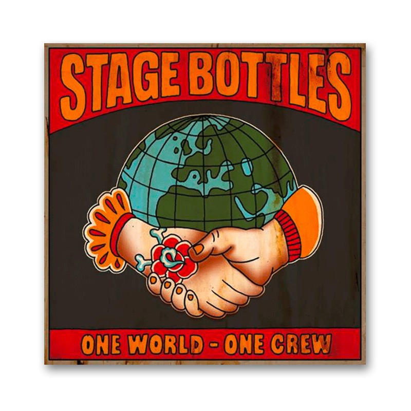 STAGE BOTTLES ONE WORLD - ONE CREW EP