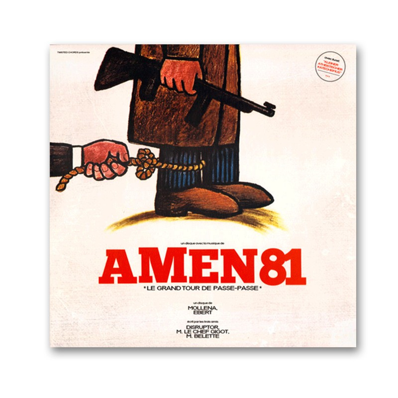 AMEN 81- Le grand tour de passe-passe - LP