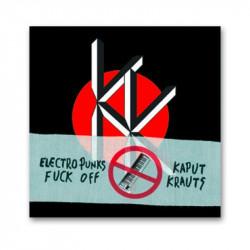 KAPUT KRAUTS - Das Flug -Split- LP