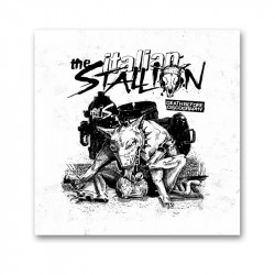 THE ITALIAN STALLION - Death before discography - LP 12""
