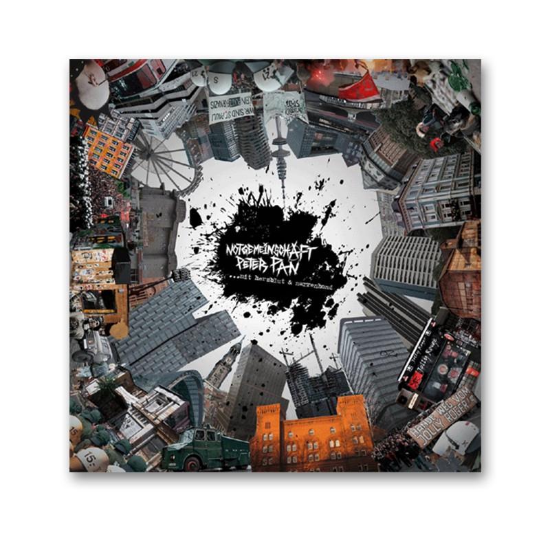 """NOTGEMEINSCHAFT PETER PAN - ... mit Herzblut und Narrenhand - 12"""" - LP"""