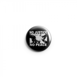 No Justice No Peace- Junge – Button