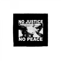 No Justice No Peace- Junge – Aufnäher