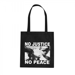 No Justice No Peace- Junge – Stoffbeutel