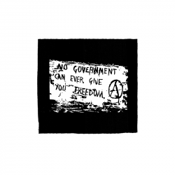 No Government – Aufnäher