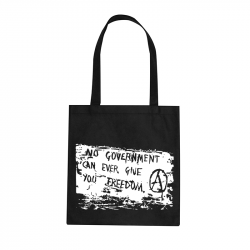 No Government – Stoffbeutel