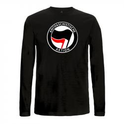 Antifaschistische Aktion - schwarz/rot – Longsleeve EP01L