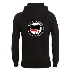 Antifaschistische Aktion - schwarz/rot – Kapuzenpullover N50P