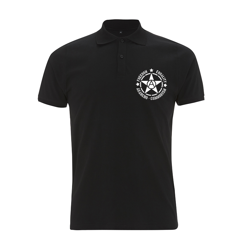 Freedom Equality Anarcho Communsim  – Polo-Shirt N34