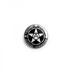 Freedom Equality Anarcho Communism  – Button