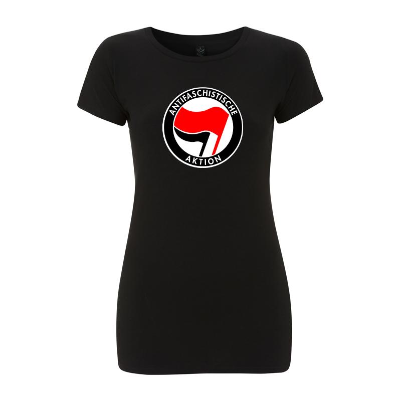 Antifaschistische Aktion - rot/schwarz – Women's  T-Shirt EP04