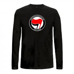 Antifaschistische Aktion - rot/schwarz – Longsleeve EP01L