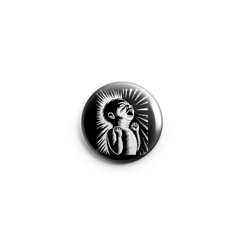 Drooker scream – Button