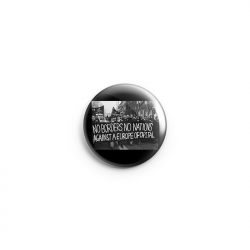 No Borders No Nation – Button
