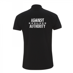 against all authority – Polo-Shirt  N34