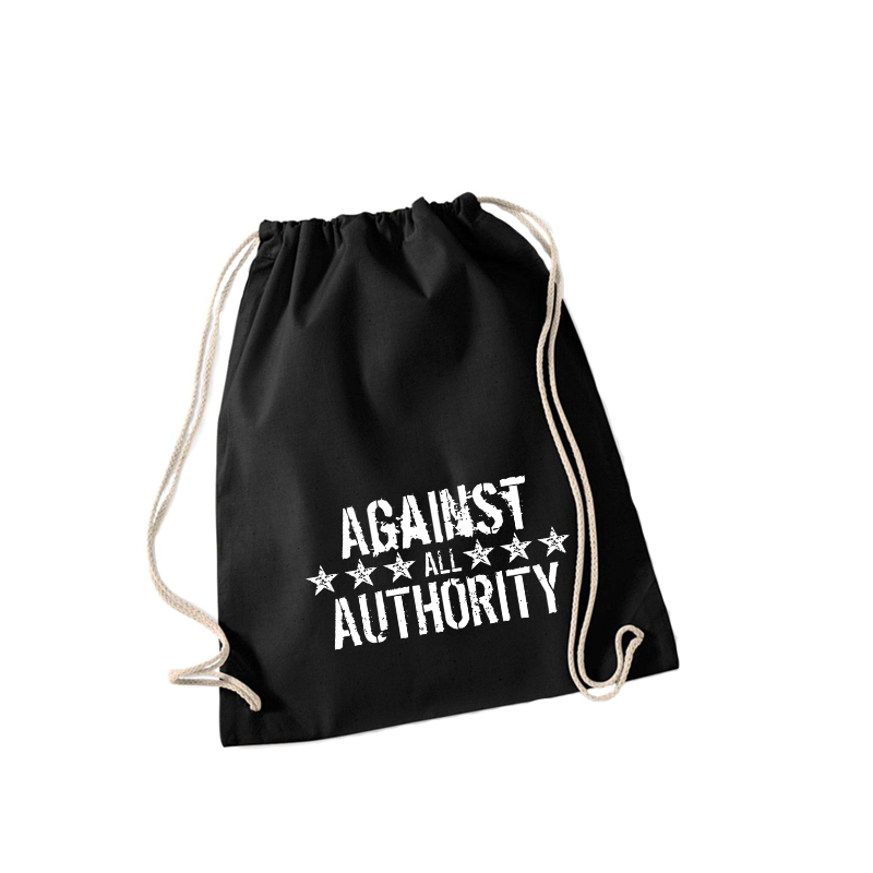against all authority – Sportbeutel WM110