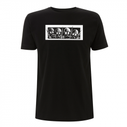 Drooker - Gasmasks – T-Shirt N03