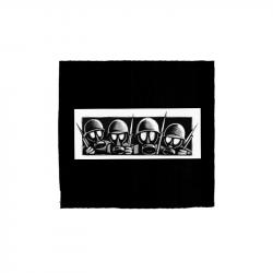 Drooker - Gasmasks – Aufnäher