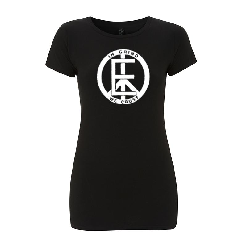 in grind we crust – Women's  T-Shirt EP04