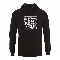 we are fucking angry – Kapuzenpullover N50P