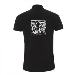 we are fucking angry – Polo-Shirt  N34