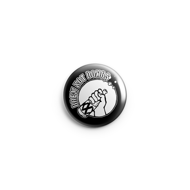 brew not bombs – Button