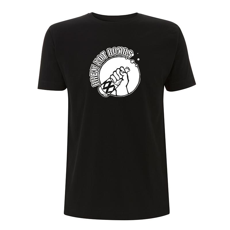 brew not bombs – T-Shirt N03