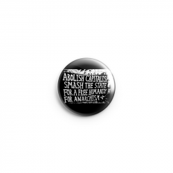 for Anarchism – Button