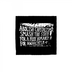 for Anarchism – Aufnäher
