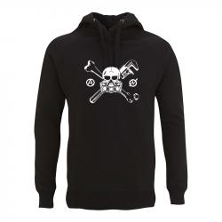 Skull Gasmask – Kapuzenpullover N50P