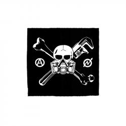 Skull Gasmask – Aufnäher
