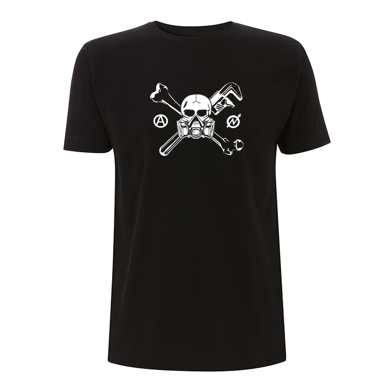 Skull Gasmask – T-Shirt N03