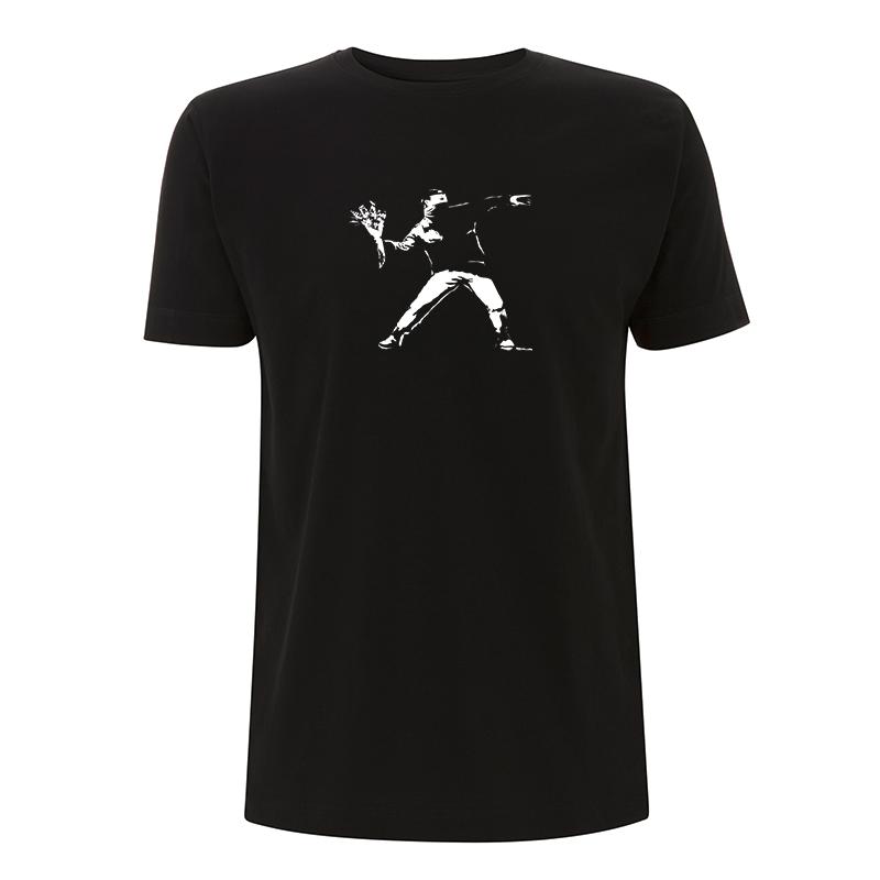 Banksy Flower – T-Shirt N03