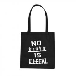 no human is illegal – Stoffbeutel